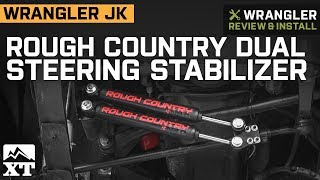 Jeep Wrangler YJ Rough Country Dual Steering Stabilizer (1987-1995) Review & Install
