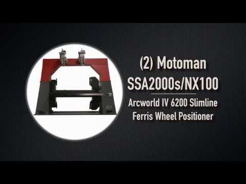 Motoman Welding Ferris Wheel Positioner