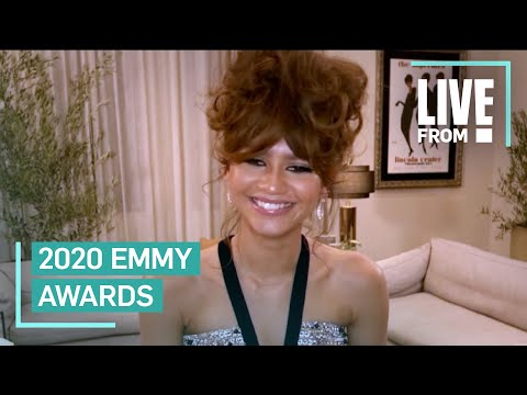 "Zendaya Is Feeling ""Lucky"" After Historic Emmys Win"