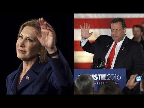 ΗΠΑ: Κρίστι – Φιορίνα εκτός μάχης για το χρίσμα των Ρεπουμπλικάνων