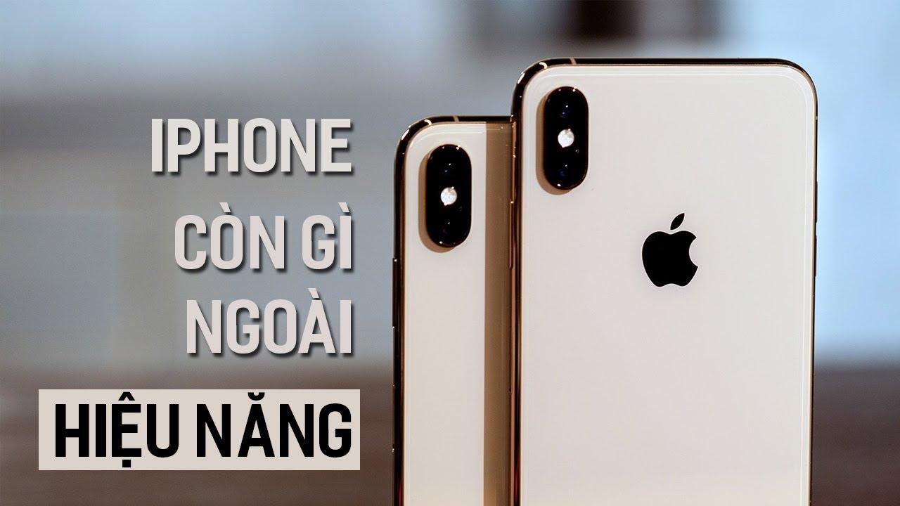 Về phần cứng, iPhone còn gì ngoại hiệu năng?