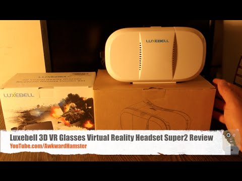Luxebell 3D VR Glasses Virtual Reality Headset Super2 Review
