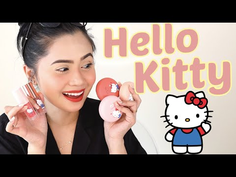 PURO HELLO KITTY MAKEUP? Newest Cathy Doll Collection | Anna Cay ♥