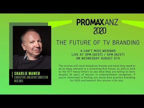 Promax ANZ Webinar – The Future of TV Branding