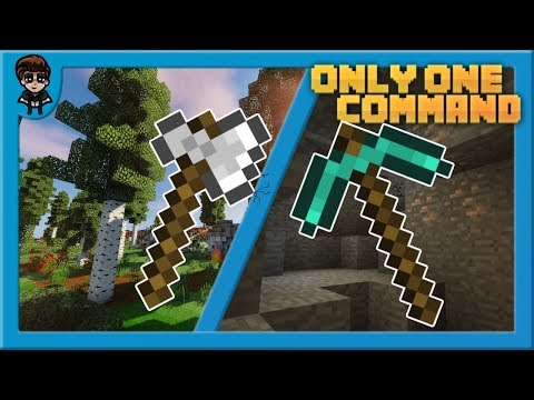 One Command Creations for Minecraft