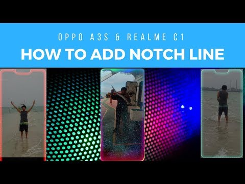 Enable Broder Light in Oppo A3s/Realme c1/Realme pro/Realme