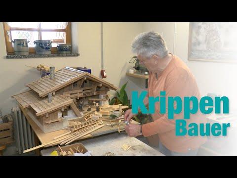 Krippenbaukunst - Herbert Peterlik baut Krippen und die Szene der Heiligen Nacht
