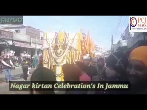 Return to editingNagar kirtan Celebration in Jammu City.