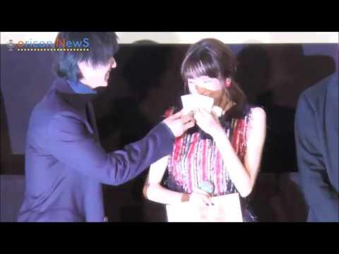 Heroine Shikkaku (2015) - Road show - Kiritani Mirei Crying