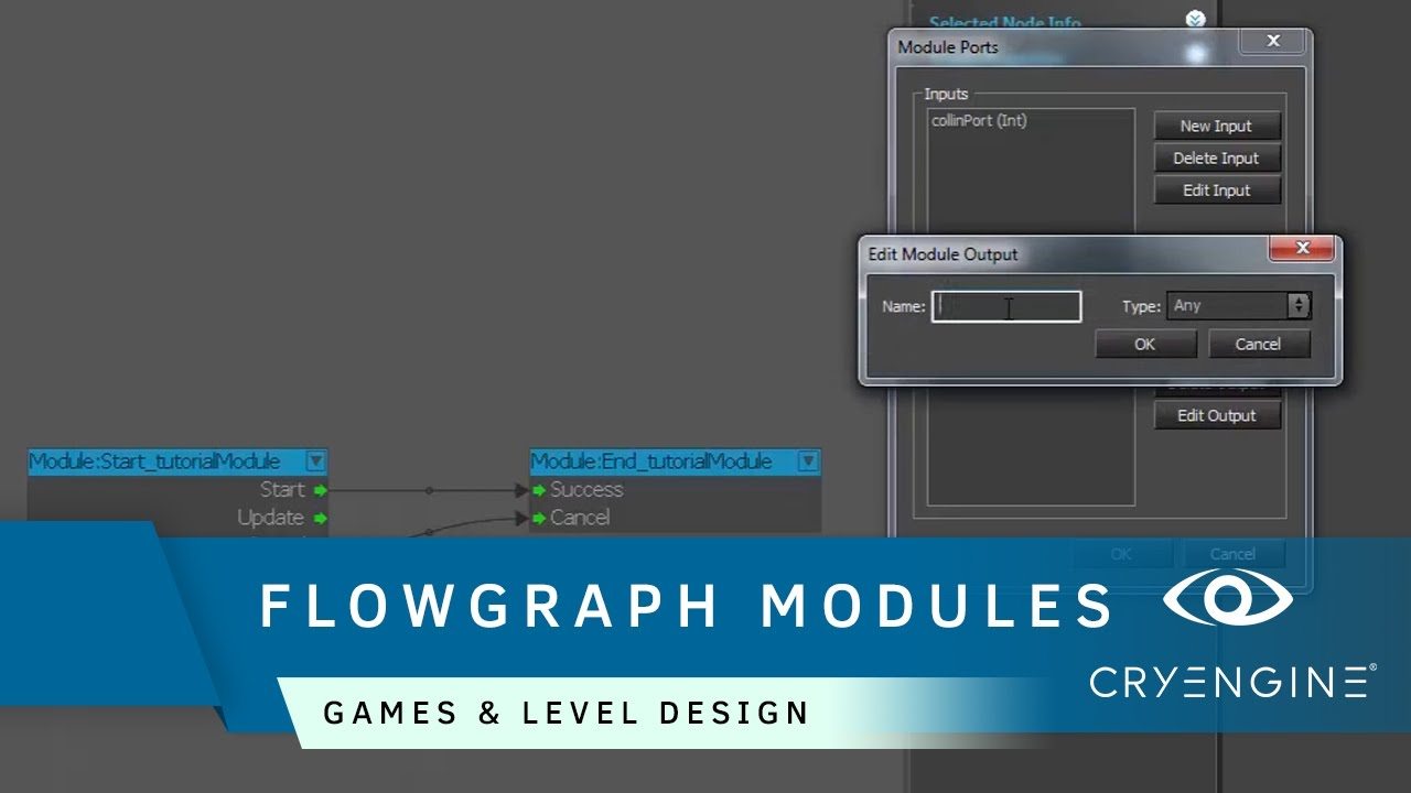 How to create Flowgraph modules | Game & Level Design