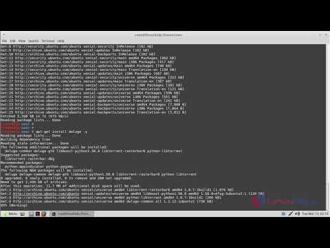 How to install Deluge 1 3 12 on Linux Mint 18 3   LinuxHelp