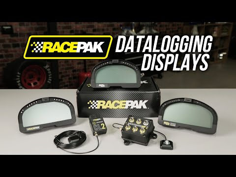 Racepak Datalogging Displays