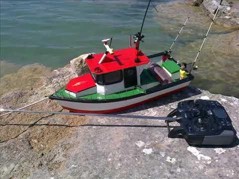 Una casera barca hacer como