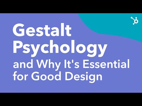Gestalt Psychology and Why It's Essential for Good Design - YouTube