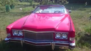 Cadillac Eldordo 1974 convertible after rebuild 8.2 liter 500in