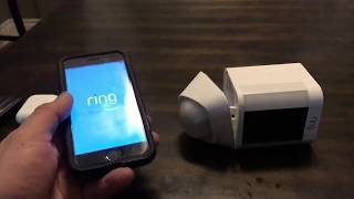 Ring spotlight camera (some questions answered)