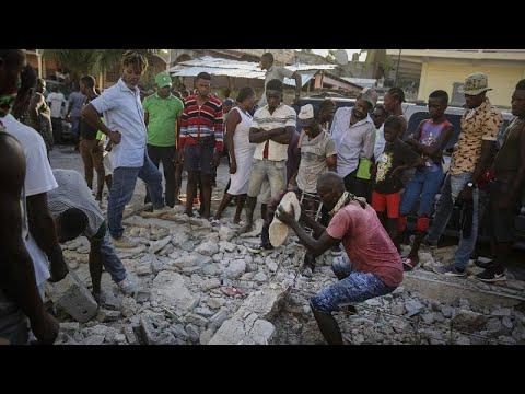 Αϊτή: Μάχη με τον χρόνο- Πάνω από 1200 οι νεκροί