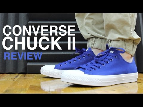 CONVERSE CHUCK TAYLOR 2 II REVIEW AND UNBOXING