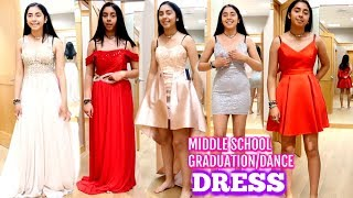 Shopping For My 8th Grade Dance And Graduation Dress |Vlog