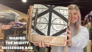 Sewing With Ben! Making The Mighty Messenger Bag By Fierce Kitten Studios