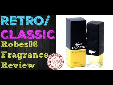 Challenge For Men by Lacoste Fragrance Review (2009) | Retro Series
