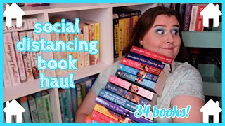 GINORMOUS (mostly) Historical Romance Book Haul! // April 2020