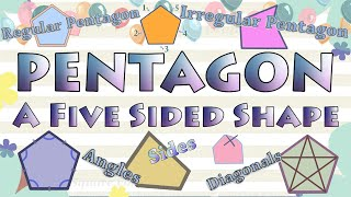 Pentagon Shape, Regular & Irregular Pentagon, Five Sided Polygon