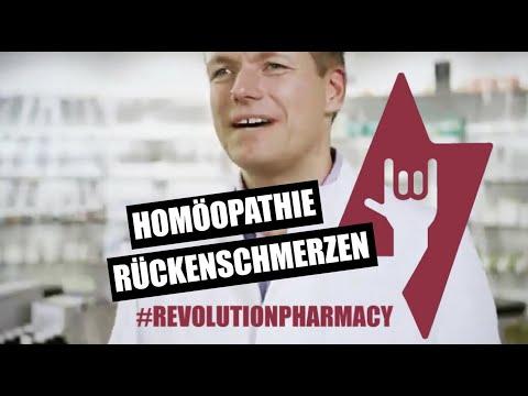 Rückenschmerzen- homöopathische Einzelmittel - Apotheker Jan Reuter