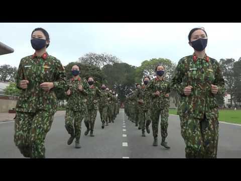 [BTL Thủ đô Hà Nội] Bộ Tư Lệnh Thủ đô nhảy vũ điệu rửa tay Ghen cô vy