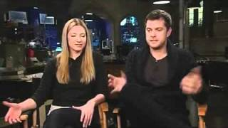 Anna Torv and Joshua Jackson of Fringe on Polivia and Altlivia Fox 5