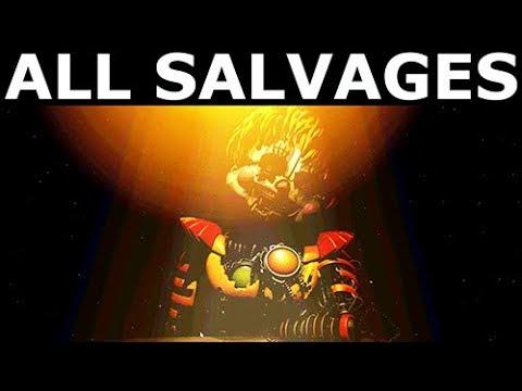 FNAF 6 - Springtrap Animatronic Salvage (Freddy Fazbear's