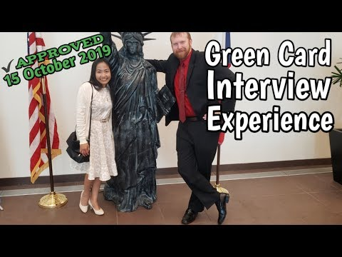 Green Card Interview Experience | October 2019 | Adjustment of status due to marriage | Form I-485