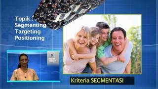 EKMA4216 Manajemen Pemasaran - Segmenting, Targeting, Positioning