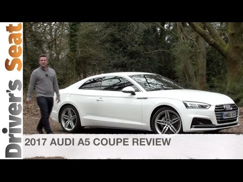 2017 Audi A5 Coupe Road Test | Driver's Seat