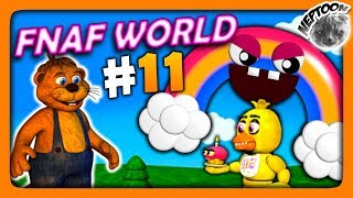 FNaF World (Мир ФНАФ) Прохождение #11 ✅ БОСС РАДУГА! ФИНАЛ!