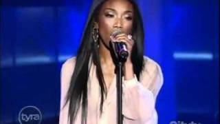Brandy   Long Distance (Tyra Banks Show Live)