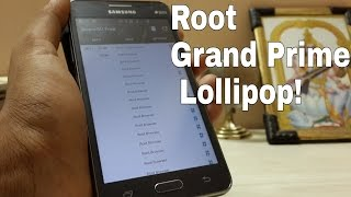 Root Galaxy Grand Prime Lollipop 5.0.2