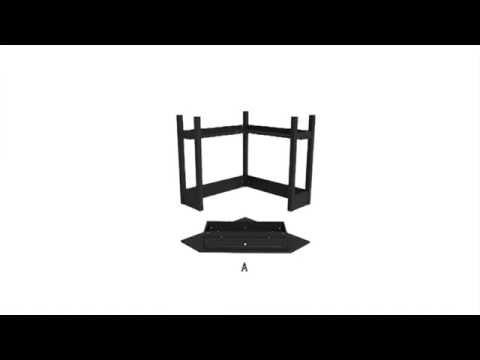 Video for Black Corner Computer Desk
