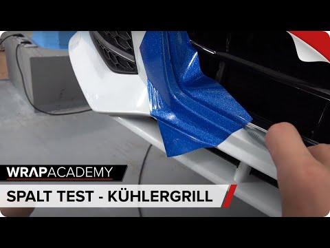 SPALTMASS TEST 2 - Stoßstange folieren