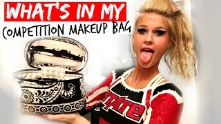Whats In My Cheer Competition Makeup Bag?!