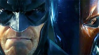 BATMAN Vs. Deathstroke Fight Epic Cinematic Battle