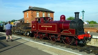preview picture of video 'Epping Ongar Railway End Of Tube Event @ North Weald 1'