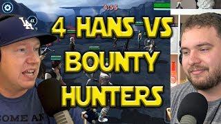 4 Hans VS Bounty Hunters - Rework Incoming | Star Wars: Galaxy Of Heroes - SWGOH