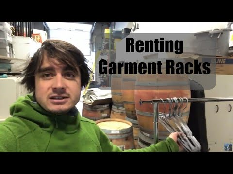 Renting Out Garment Racks - Side Item - Growing Event Rental Business