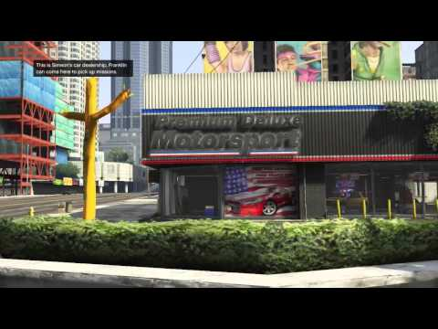 GTA 5 - Michael Dialogue - Franklin Gameplay - Playstation 3
