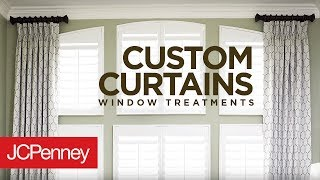 Custom Curtains And Drapes For Large Windows | JCPenney In-Home Decorating