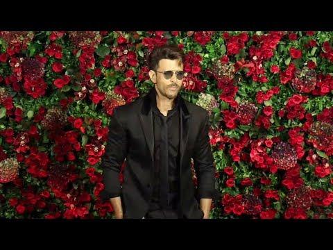 Hrithik Roshan At Ranveer Deepika Wedding Reception
