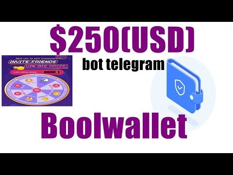 boolwallet Ganhe $250 EM BTT + 1 Lucky Draw para rodar ao baixa app no kyc