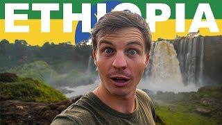 FIRST IMPRESSIONS OF ETHIOPIA (Blue Nile Falls Vlog)