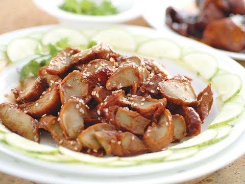 Vegetarian Char Siu  #Healthy Vegetarian Cooking Series _R2